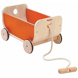 CHARIOT WAGON ORANGE - PLAN TOYS