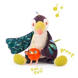 TOUCAN PAKOU MUSICAL D'ACTIVITES DANS LA JUNGLE - MOULIN ROTY