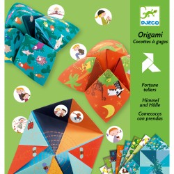 Origami Cocotes à gages Animaux - Djeco