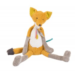 Grande Peluche Renard Chaussette, collection Le Voyage d'Olga - Moulin roty